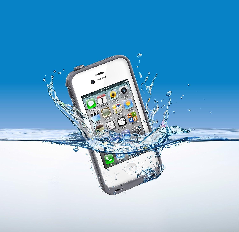 LifeProof FRE Custodia per iPhone 4/4S 1004-02 Bianco