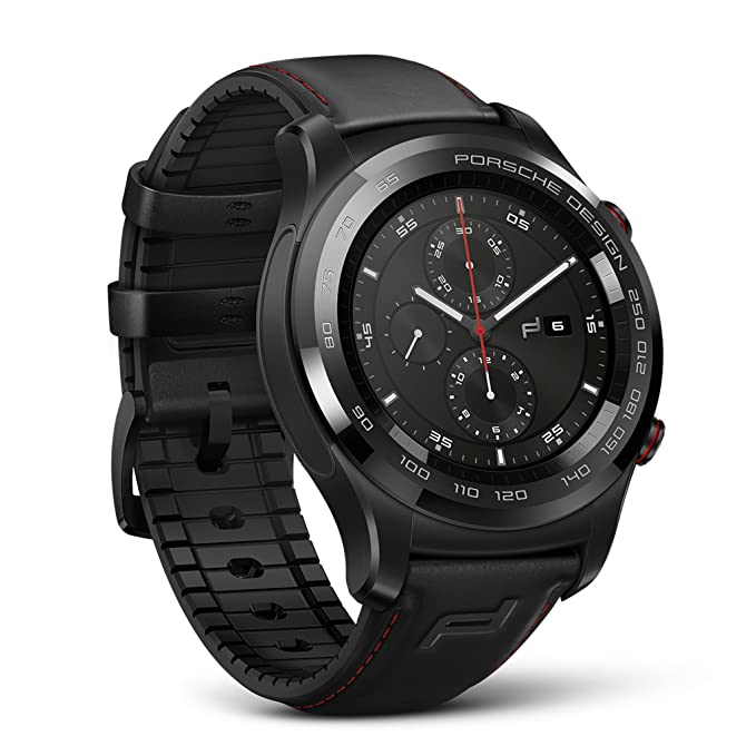 Porsche Design Huawei SmartWatch 4 GB IP68 - Negro: Amazon ...