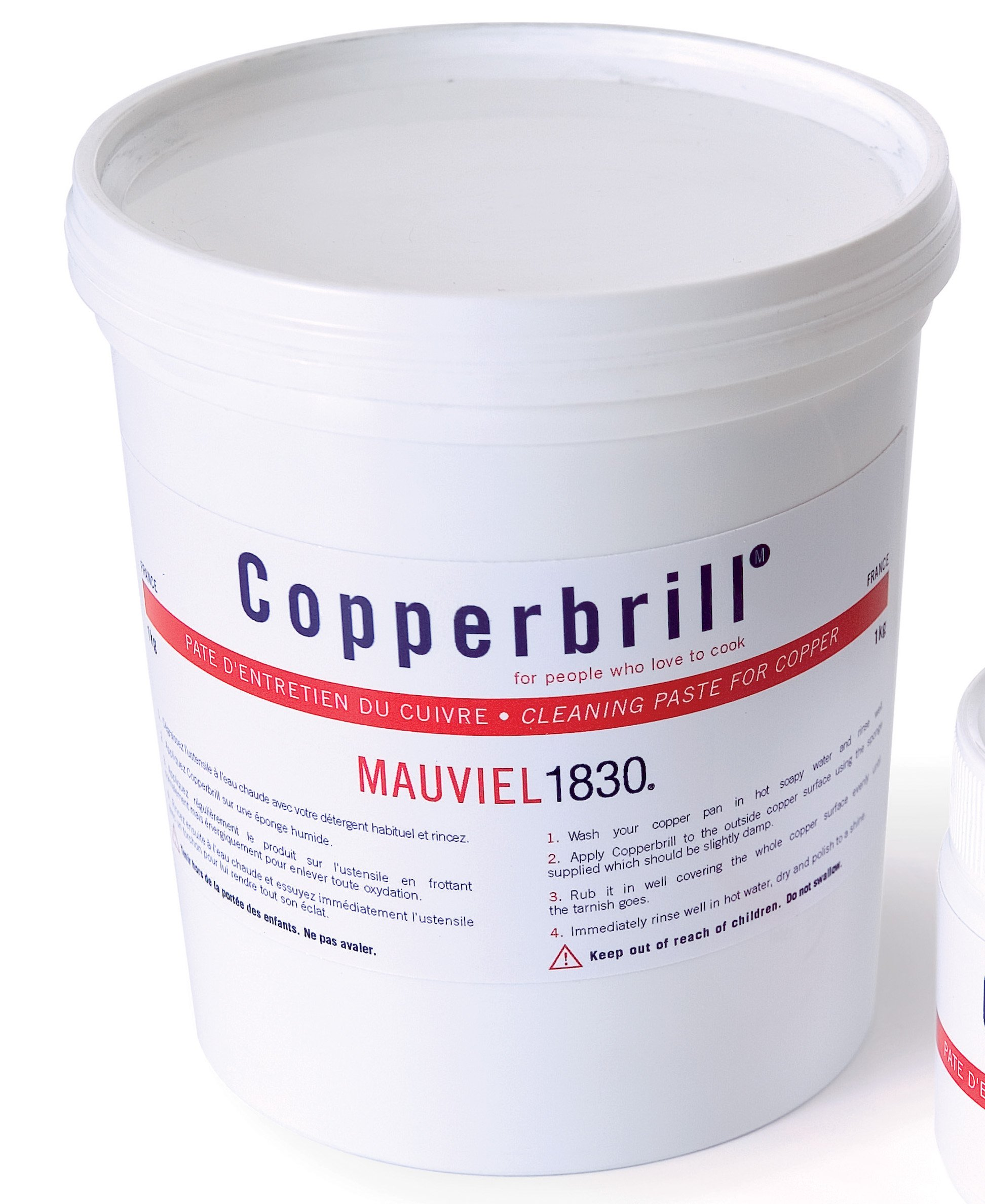 M'plus 1 liter Copperbrill Cleaner by Mauviel