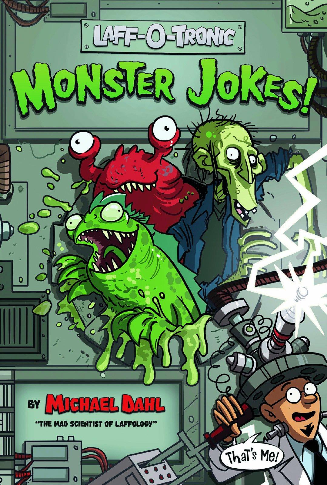 Laff-O-Tronic Monster Jokes! (Laff-O-Tronic Joke Books!)