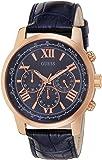 Guess  W0380G5 - Reloj de lujo para hombre, color azul