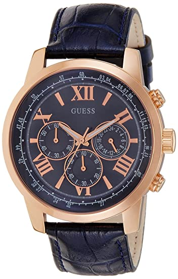 Guess Reloj de lujo para hombre W0380G5  Amazon.es  Relojes 8bf4a27b83c5