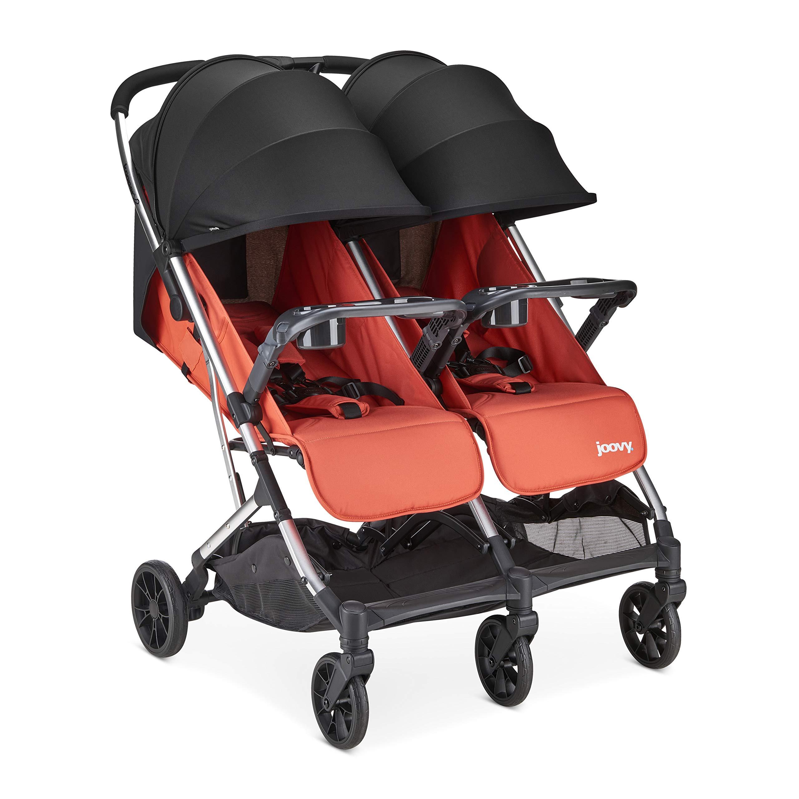 Joovy 8225 Kooper X2 Stroller, Paprika