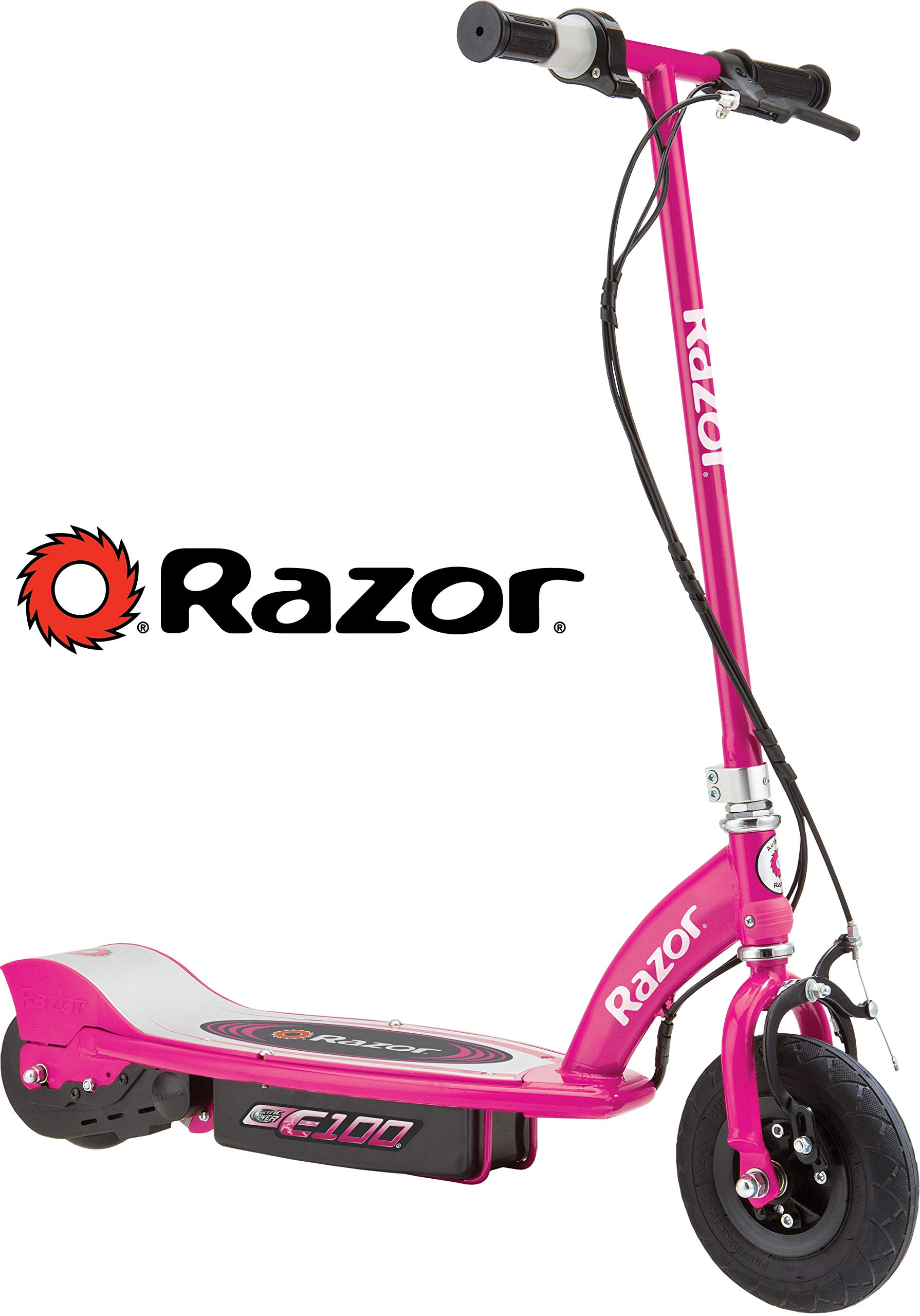 Razor E100 Electric Scooter - Pink by Razor