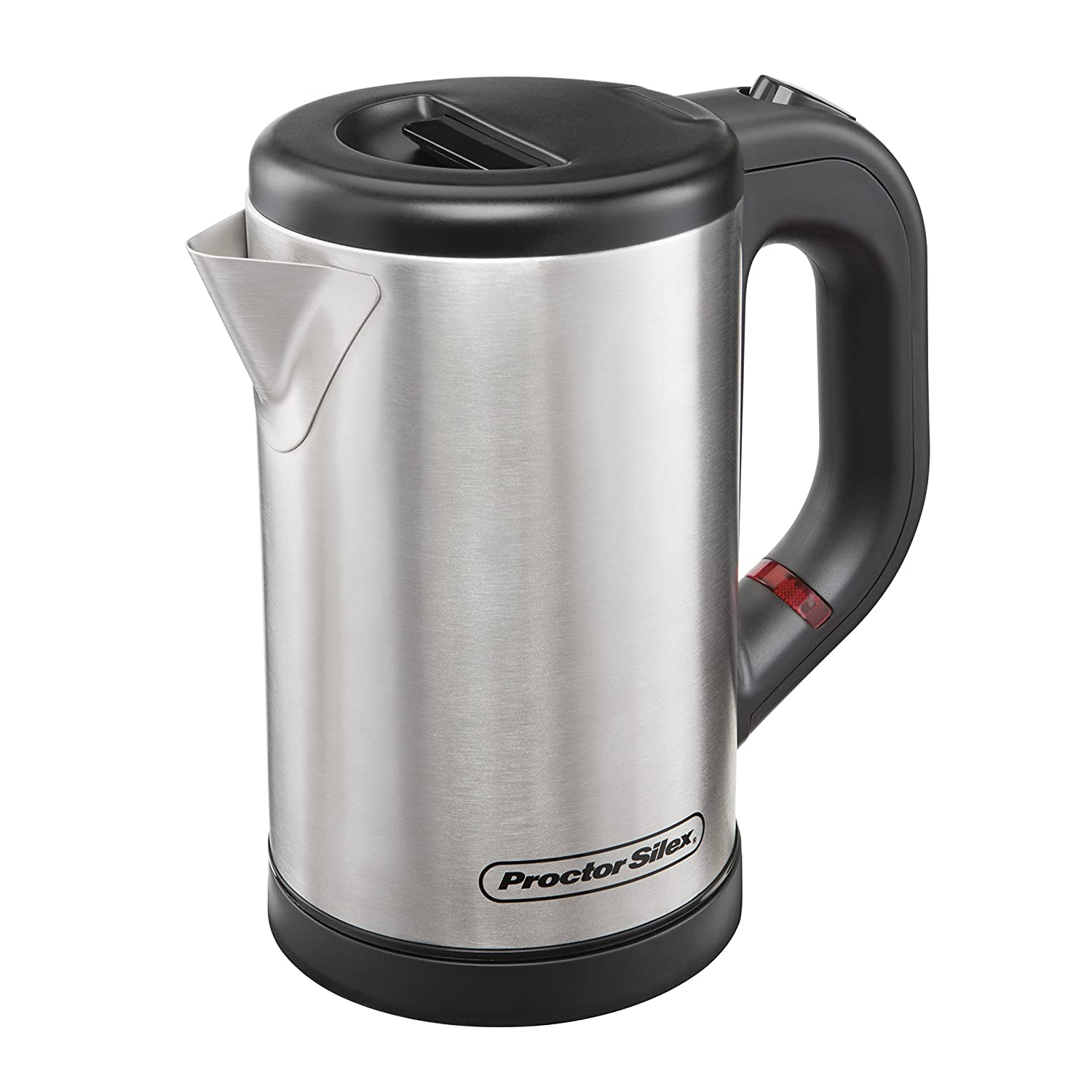 Proctor Silex 40940 Compact Electric Kettle, .5 Liter, Stainless Steel
