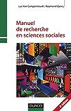 Manuel de recherche en sciences sociales - 4e edition (Psychologie sociale)