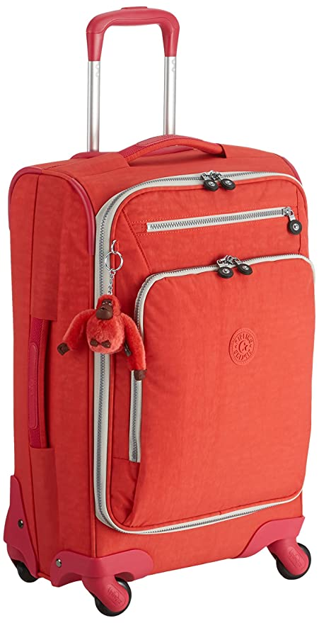 9878682f844 Kipling Luggage - Small Size Cabin Spinner - YOURI Spin 55 Coral Rose CT F:  Amazon.in: Bags, Wallets & Luggage