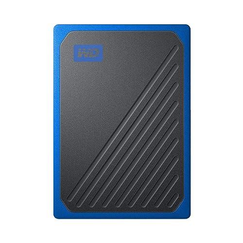 WD SSD 外付 ポータブル 1TB My Passport Go