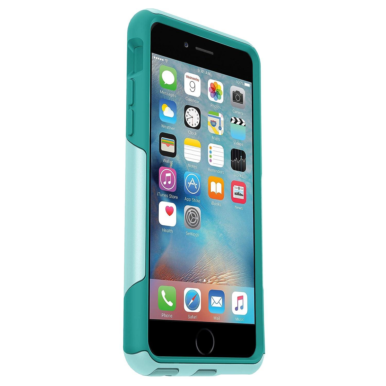 buy online 2230b 0c8b1 OtterBox COMMUTER SERIES iPhone 6/6s Case - Frustration Free Packaging -  AQUA SKY (AQUA BLUE/LIGHT TEAL)