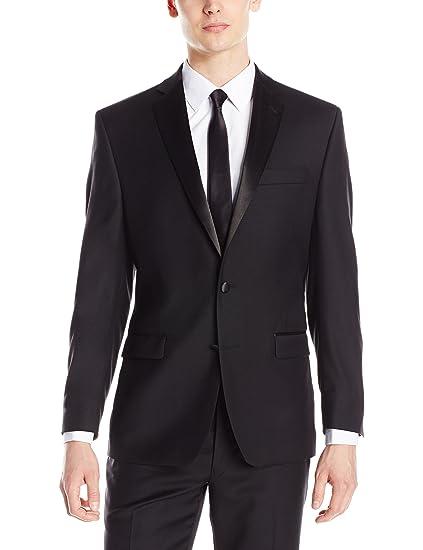 d275ab9cec54 Calvin Klein Men s Modern Fit 100% Wool Tuxedo Separate Jacket
