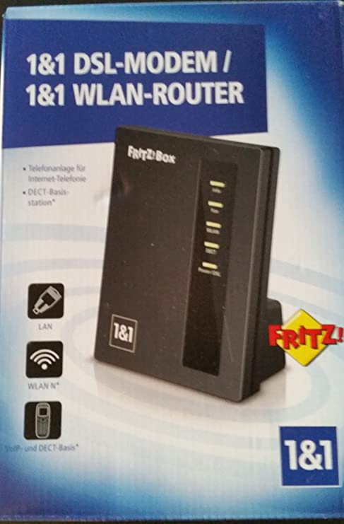 Fritzbox 1000 from 100&100 DSL MODEM / WLAN ROUTER: Amazon.de
