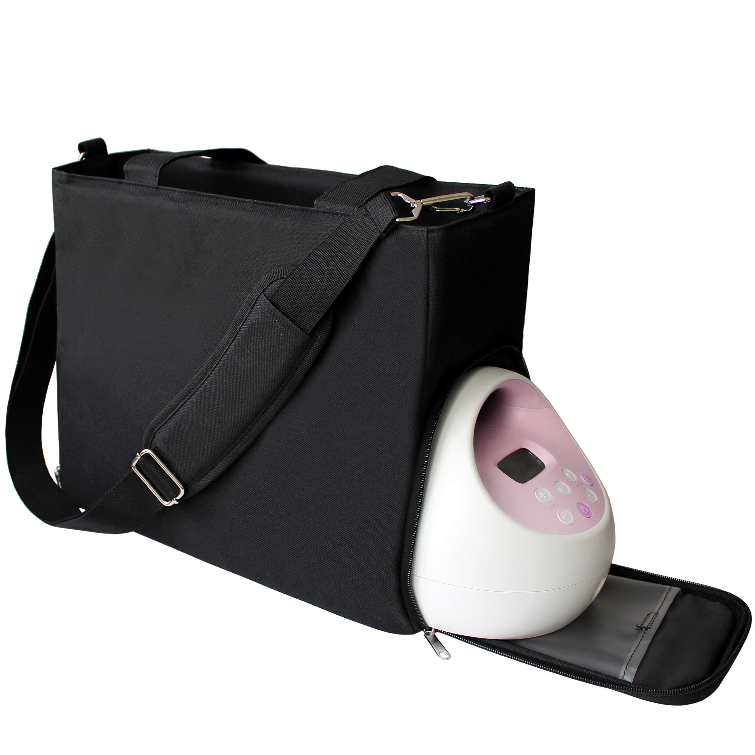 Lil Elephant Breast Pump Bag - Premium Pumping Bag for Spectra, Medela Breastpump | Stylish Tote Breastpump Bags for Moms | Breast Pump Bags and Totes