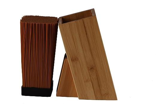 7 opinioni per Coltello universale Block in un legno semplice design in due Varianti di bambù o