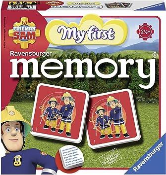 Ravensburger Sam el Bombero - Memory, Juego de Mesa 212040: Hurter, William H.: Amazon.es: Juguetes y juegos