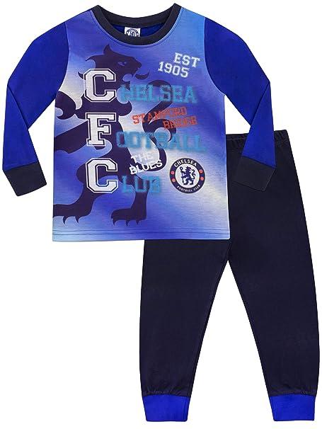 Chelsea Pijama para Niños Football Club Azul 3-4 Años