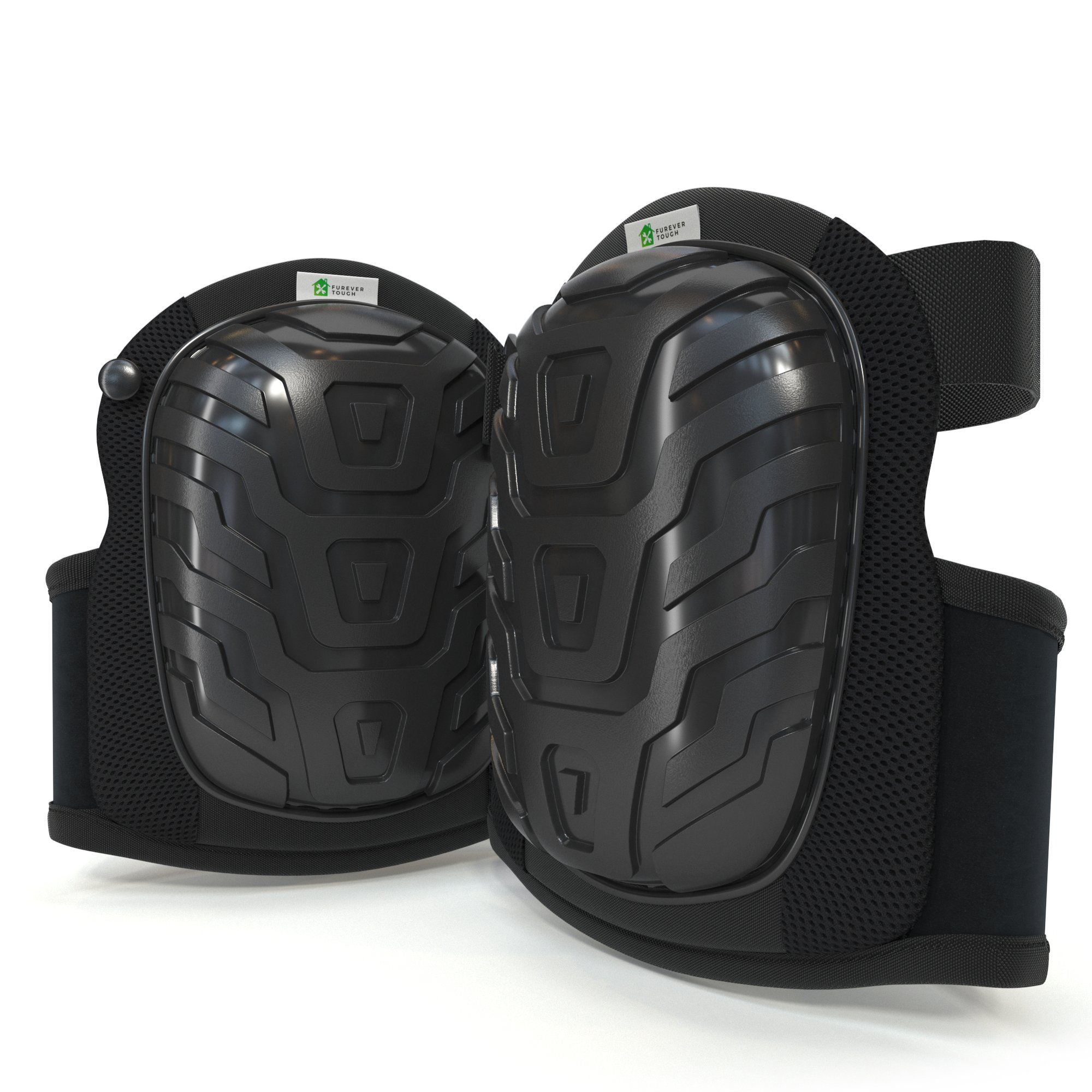 Professional Knee Pads with Comfortable Gel Cushion & Heavy Duty Foam Padding. Adjustable Neoprene Straps - Easy Fast Binding & Strong Clips. Non-Slip Protection for Construction, Gardening, Flooring