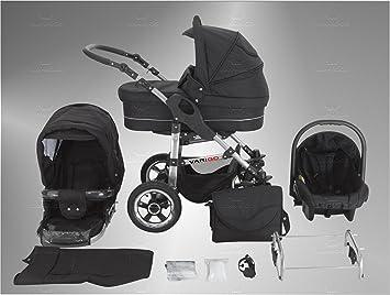 Lux4Kids X6 3 in 1 Cochecito Combinado con el parasol incluido (asiento del coche,