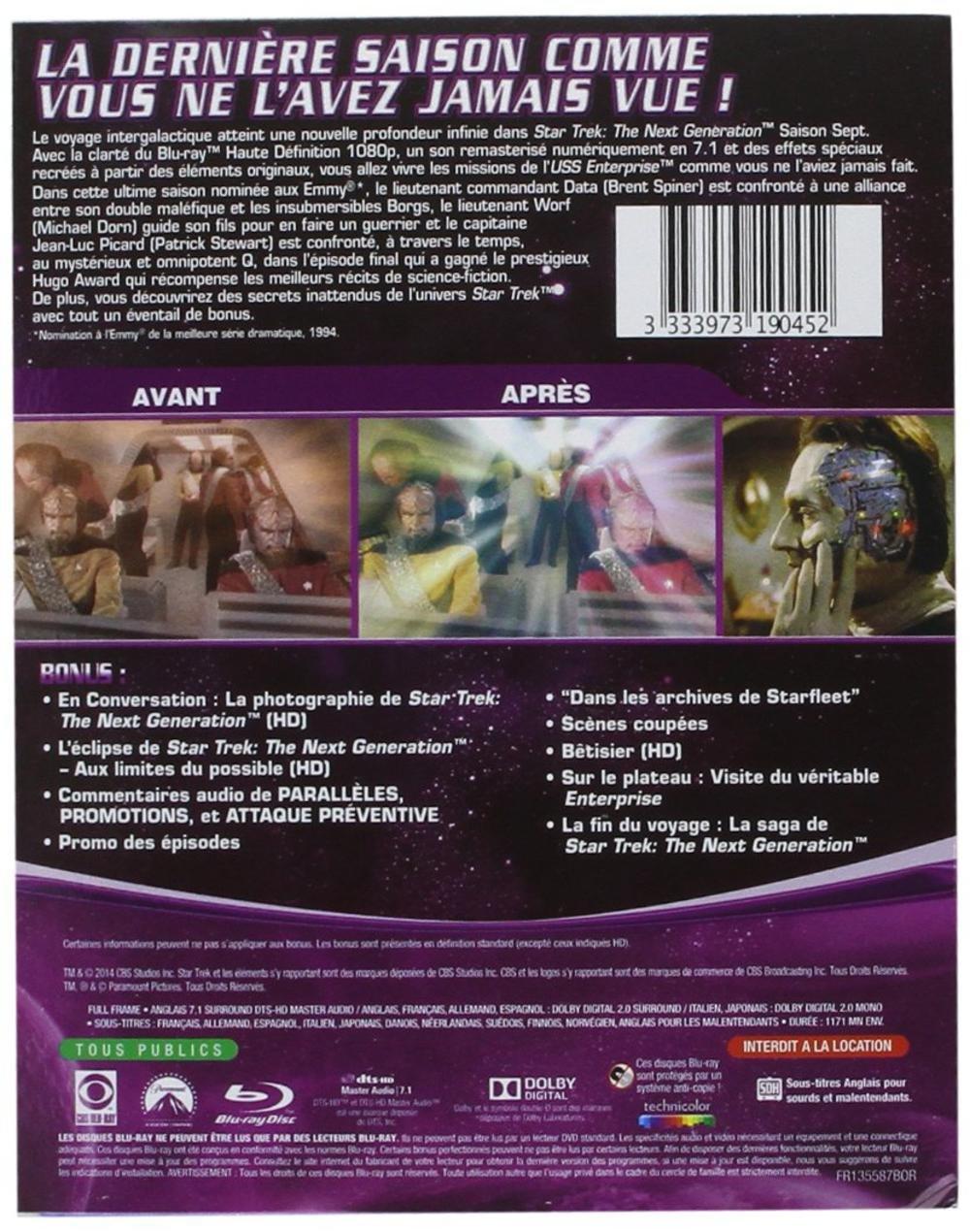 Amazon.com: Star Trek - La nouvelle génération - Saison 7 ...