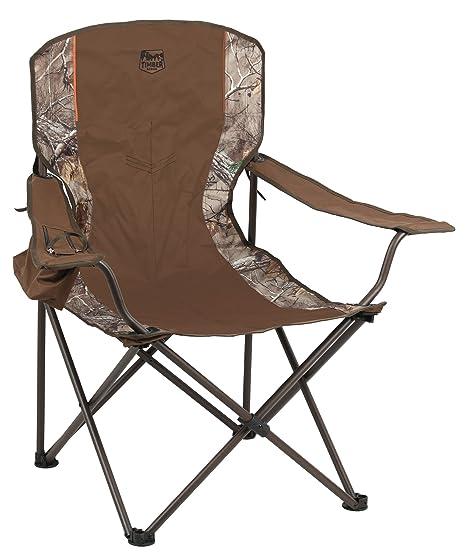 Timber Ridge Pine Lodge Chair, Camouflage
