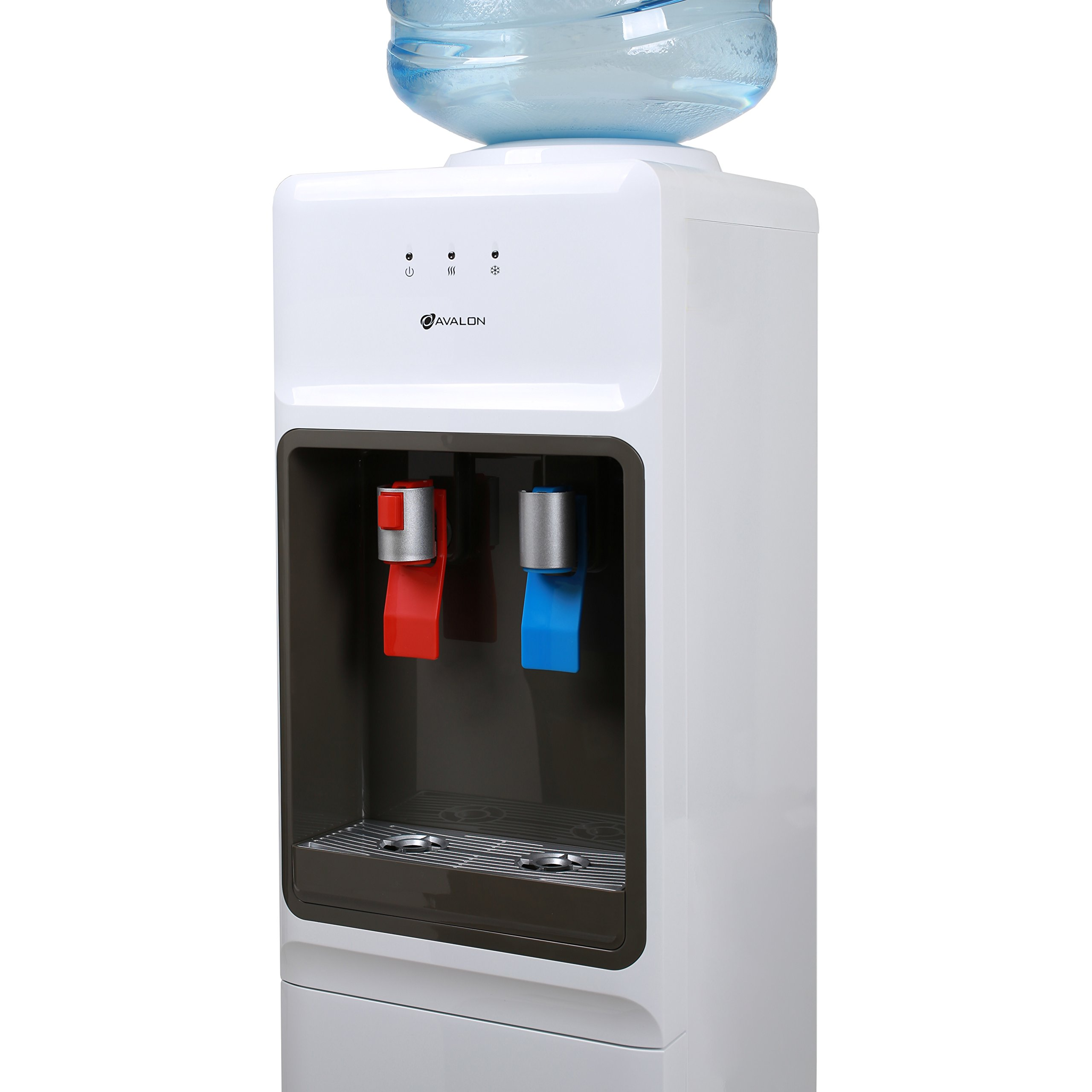 Avalon Top Loading Water Cooler Dispenser - Hot & Cold Water, Child Safety Lock, Innovative Slim Design, Holds 3 or 5 Gallon Bottles - UL/Energy Star Approved by Avalon (Image #3)