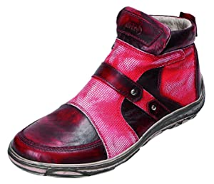 Miccos Shoes womens Zip Boots bordo comb.