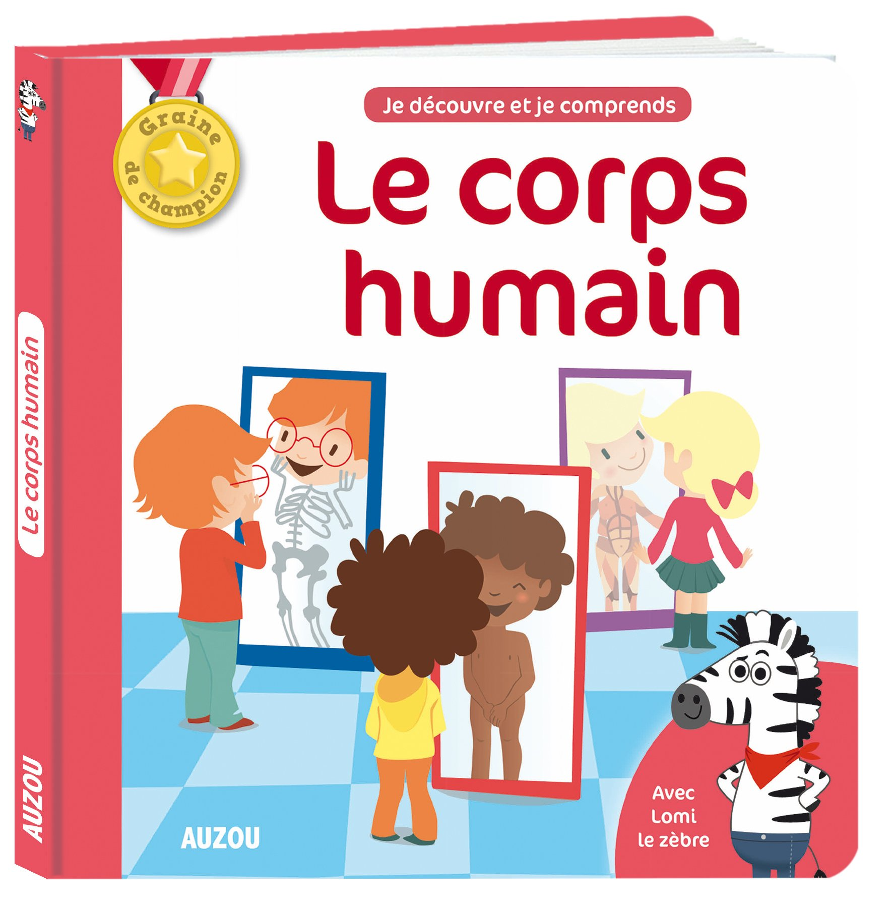 Les docus de champion - Le corps humain Album – 14 septembre 2017 Mathilde Paris Gaëlle Souppart AUZOU EDITIONS 2733853171