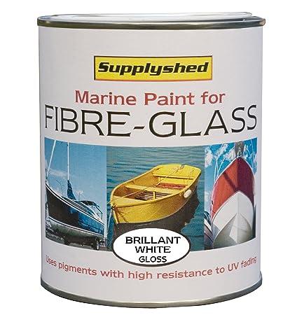 Fibreglass Boat Paint White gloss 750ml