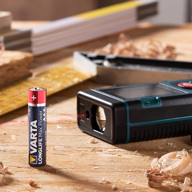 Varta Longlife Max Power Aaa Micro Lr03 Battery Elektronik