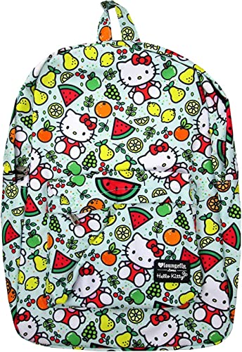 Loungefly x Hello Kitty Fruit Allover-Print Nylon Backpack Multicolored