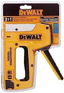 DEWALT DWHTTR350 Dewalt Heavy-Duty Aluminum Stapler/Brad Nailer