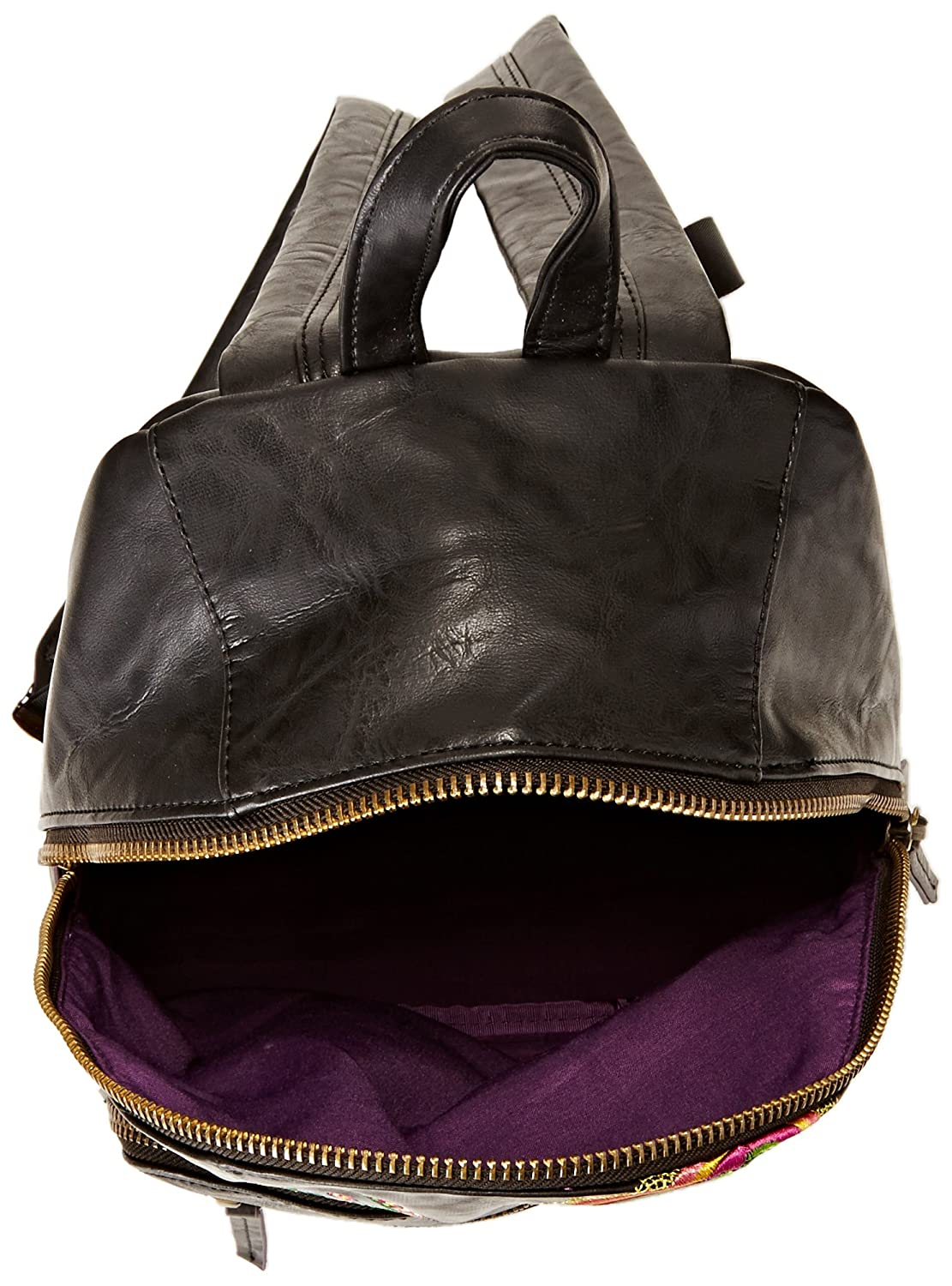 Desigual Women S Bols Lima Audrey Backpack Handbags Brown Size