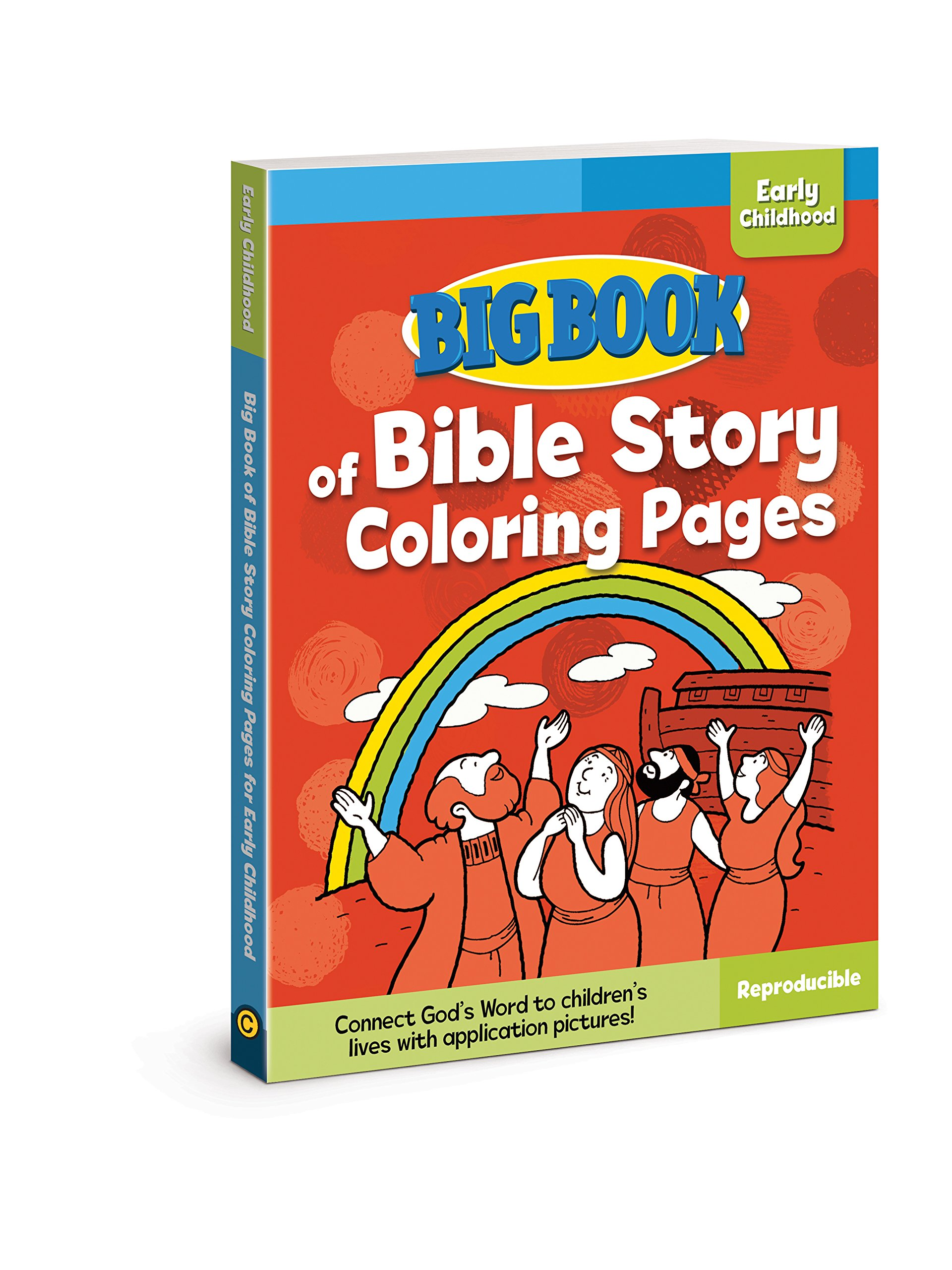 Big Book Of Bible Story Coloring Pages For Early Childhood Books David C Cook 9780830772322 Amazon