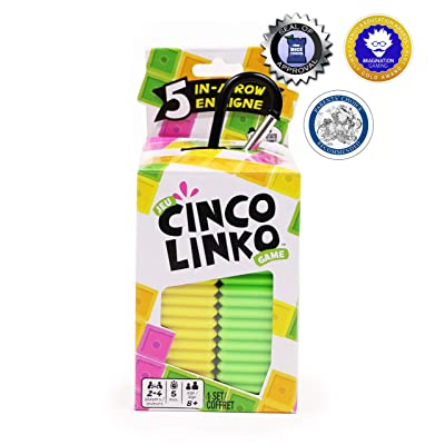 Cinco Linko, A Strategy Board Game You Can Learn in 30 Seconds or Less: Toys & Games