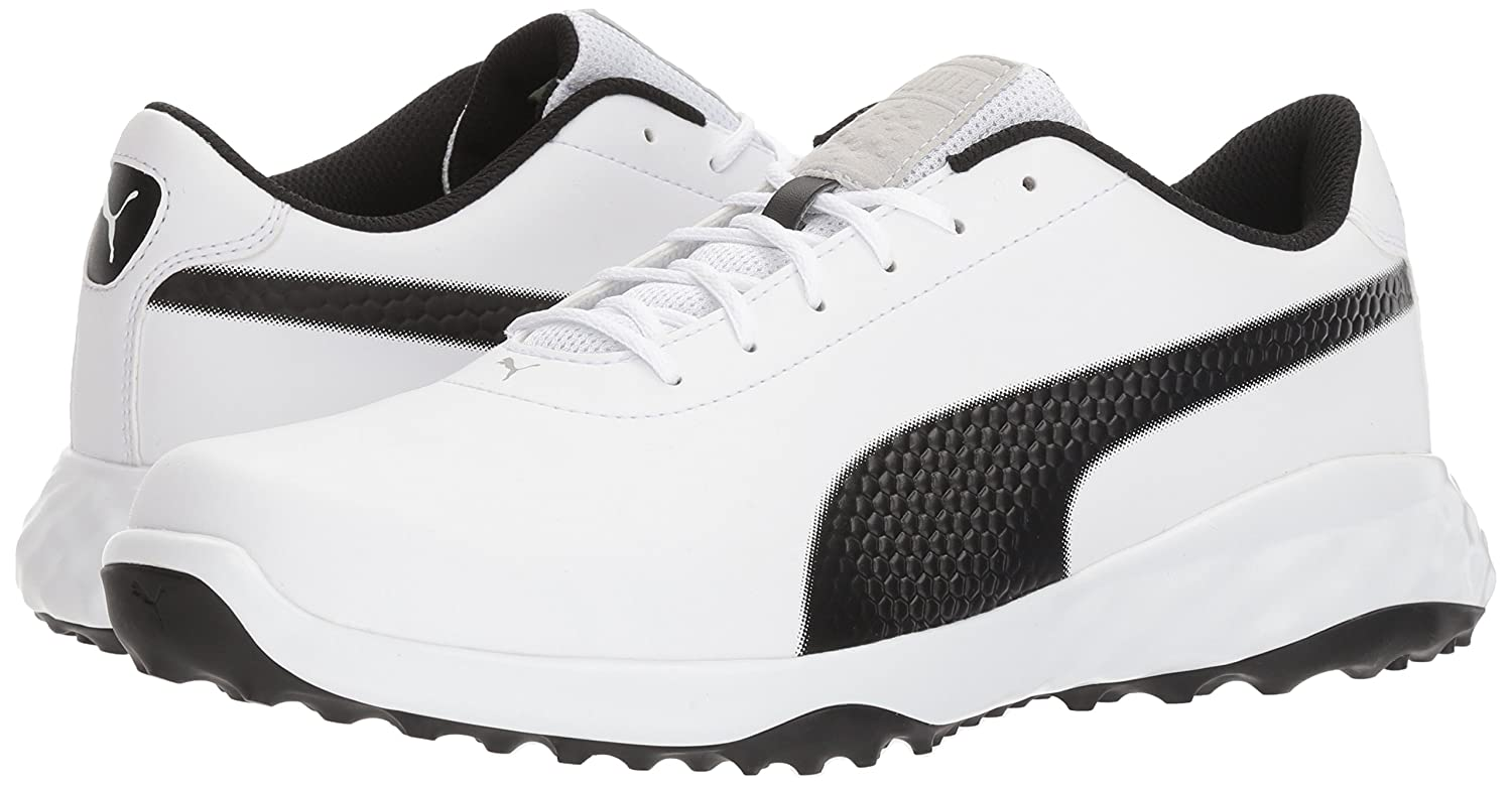 5b1b6555e0cf Puma Men s Grip Fusion Classic Golf Shoe  Buy Online at Low Prices in India  - Amazon.in