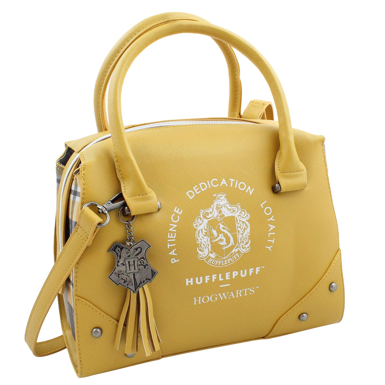 Harry Potter Purse Designer Handbag Hogwarts Houses Womens Top Handle Shoulder Satchel Bag Hufflepuff