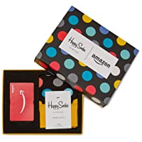 Deals on $100 Amazon Gift Card with Happy Socks Limited Edition
