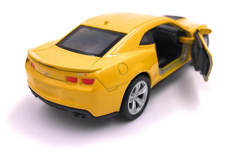 Welly Producto de Licencia de autom/óvil Modelo ZL1 Camaro 1 Amarillo 34-1 39
