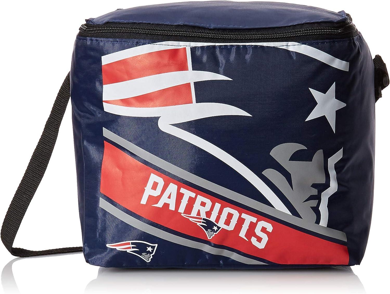 FOCO NFL Big Logo Stripe 12-Pack Cooler
