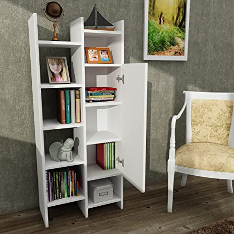 Bond Modern Bookcase 22 X 51 10 Shelving