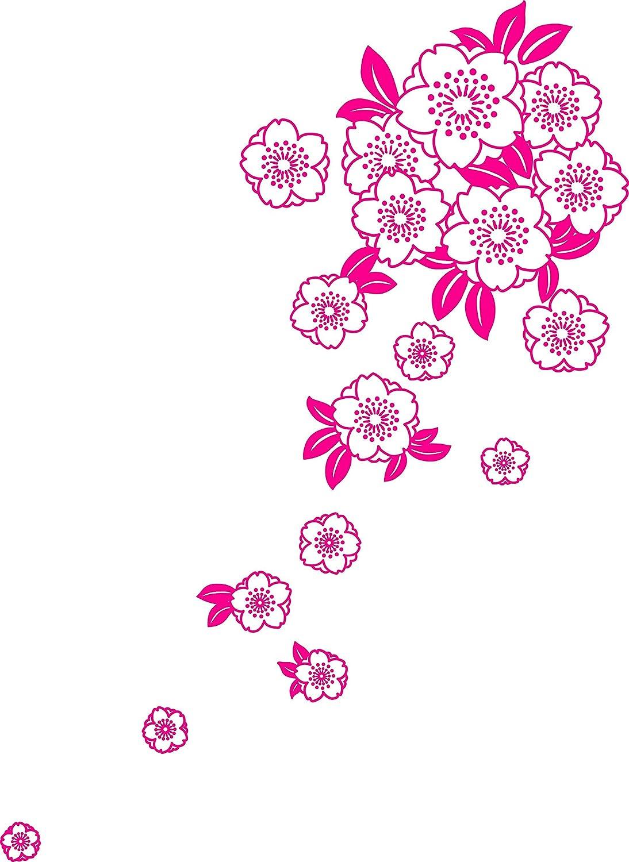 舞杏(ブアン) 和柄グラフィックス L-F ピンク WAGFKBIGF13 B00JRSIIC8  ピンク