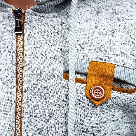 Bleuzee Warm Winter Hoodies Sweatshirt Dots Print Zipper Mens Hoody Tracksuit Brand Casual Sudaderas Hombre at Amazon Mens Clothing store: