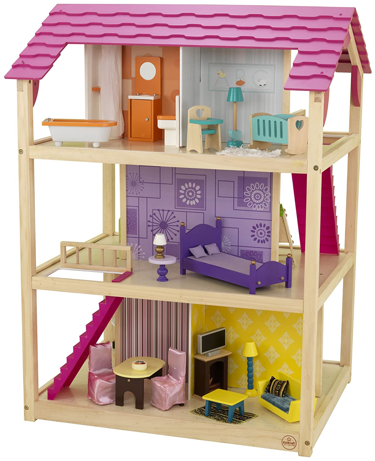 wooden barbie doll house furniture peachy design ideas