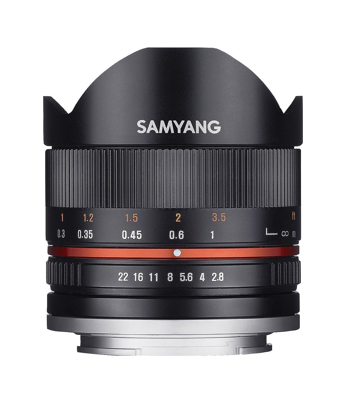 Samyang F Objetivo fotográfico CSC Mirrorless para Canon M distancia focal fija