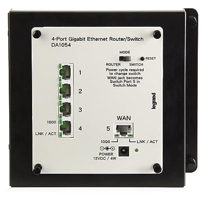 533879f929c Amazon.com  Legrand - On-Q DA1054 4 Port Gigabit Router Switch ...