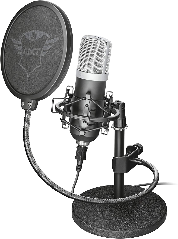 Trust emita micrófono de condensador