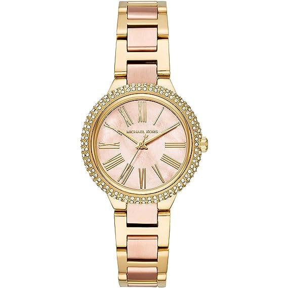 Michael Kors Reloj Analogico para Mujer de Cuarzo con Correa en Acero Inoxidable MK6564: Amazon.es: Relojes