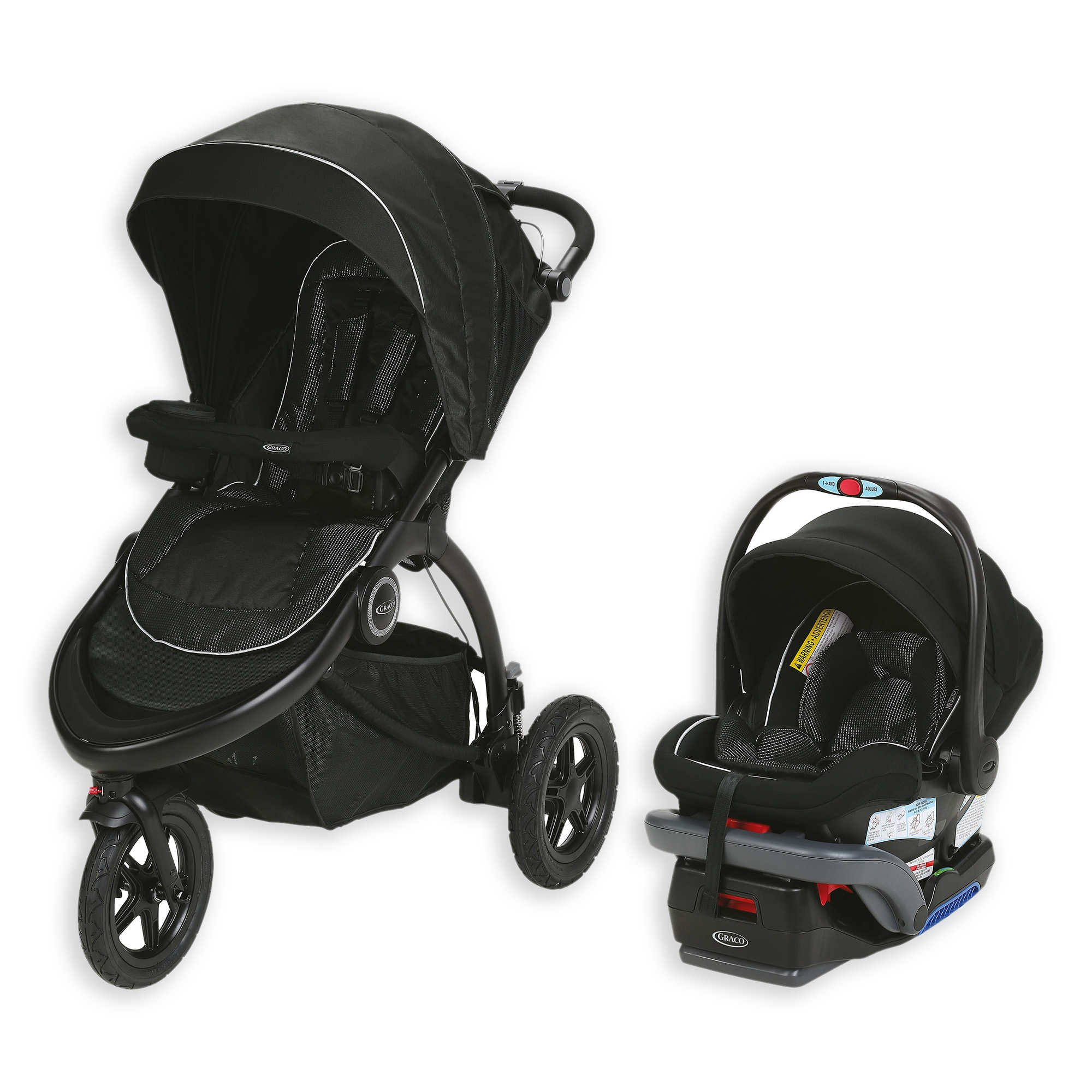 Jogger Travel System In Comet by Graco Trailrider (Image #1)