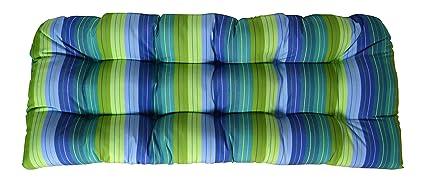 Amazon Com Rsh Decor Sunbrella Seville Seaside Large Wicker Love