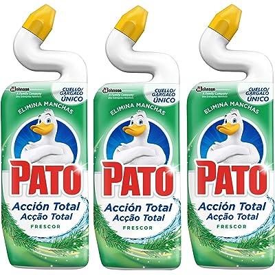 Pato - Wc Frescor, Producto para inodoro 750 ml - Pack de 3 (Total 2250 ml)