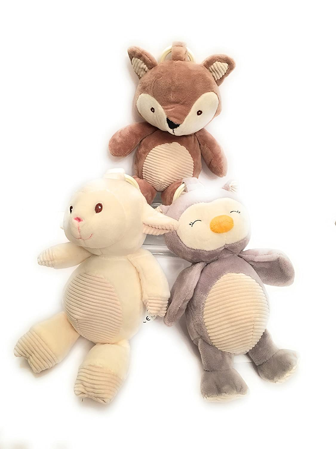 Amazon.com: KELLYTOY Woodland Baby Animals Bundle Set de ...